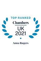 Anna Rogers - Chambers UK 2021